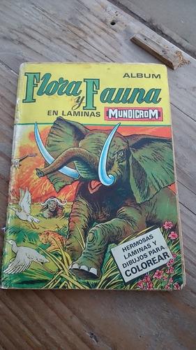 flora y fauna mundicrom completo.