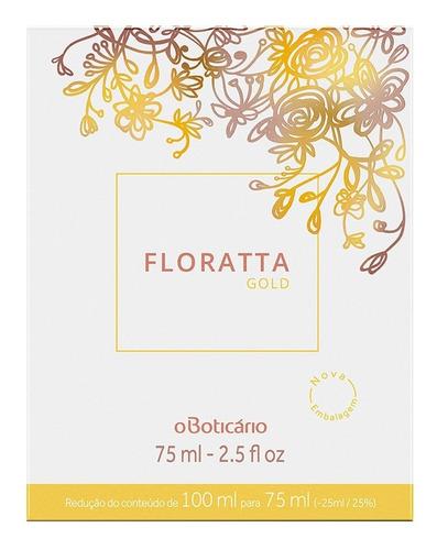 floratta gold desodorante colônia 75ml