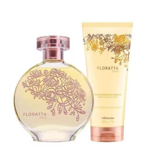 floratta in gold 75ml + creme hidratante 200ml o boticário