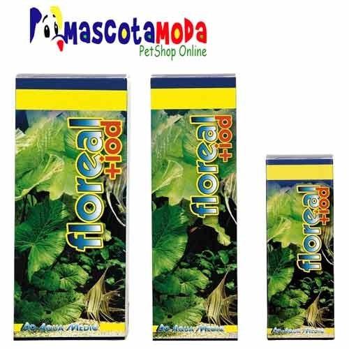 floreal iod 100ml suplemento fertilizante acuarios plantados