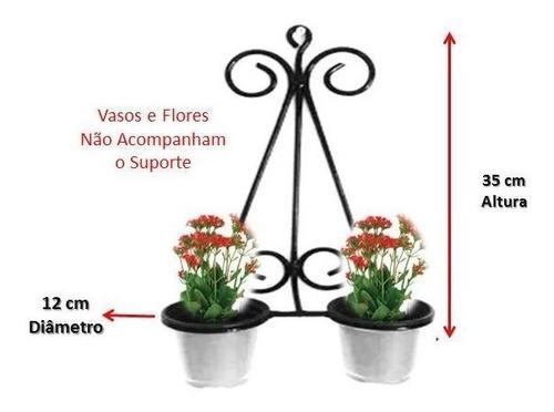 floreira de parede floreira de ferro suporte vaso de flor