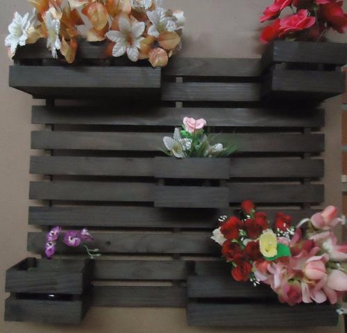 floreira vertical 5 cachepôs frete grátis