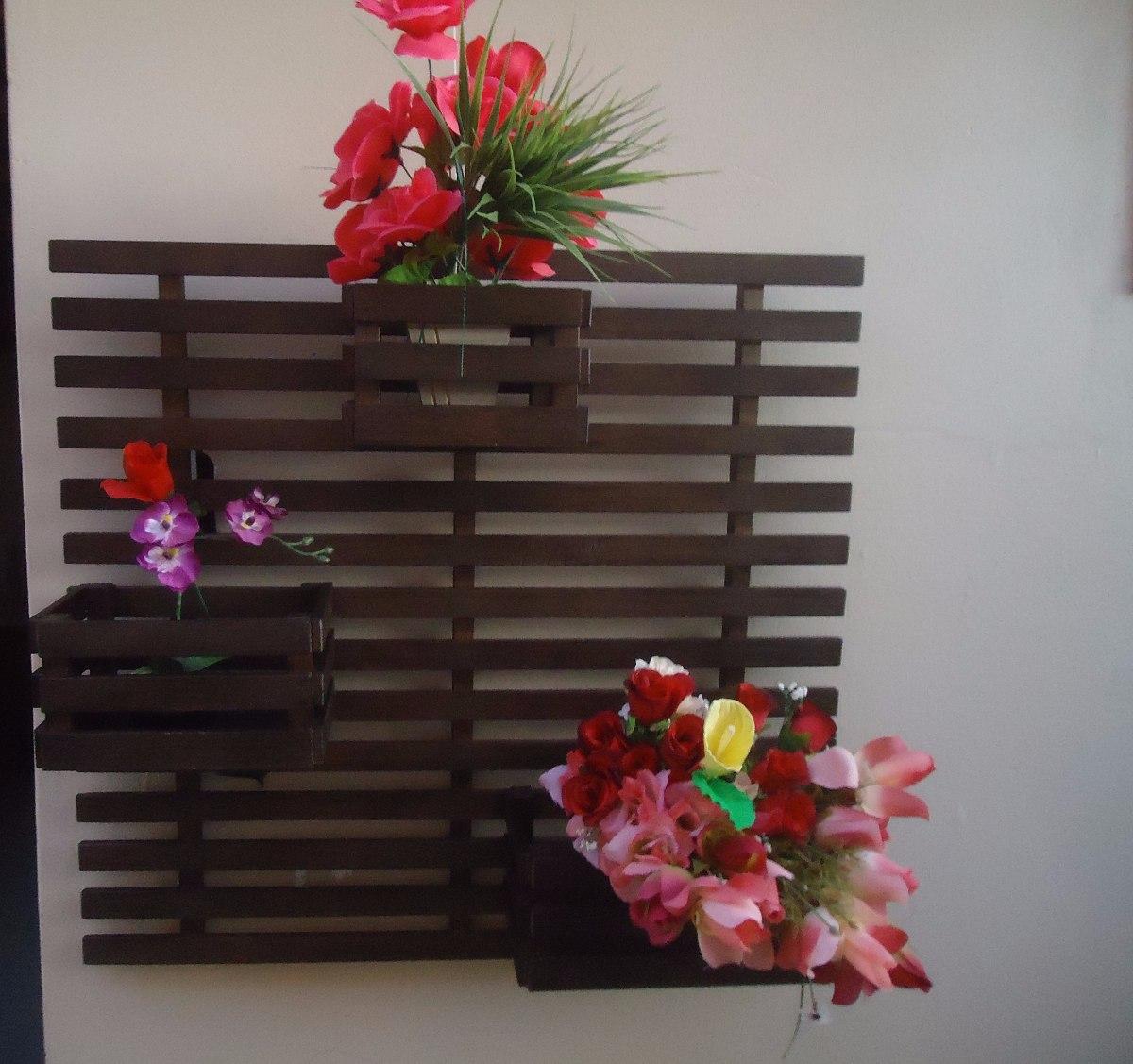 Floreira Vertical Madeira 3 Cachep S R 189 90 Em Mercado Livre -> Floreira Vertical