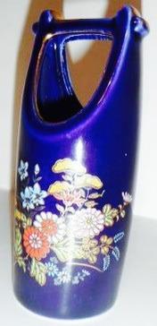 florerito 11 cm porcelana azul cobalto