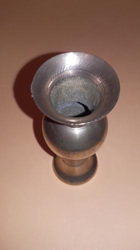 florero bronce hindu 11cmx 4 cm