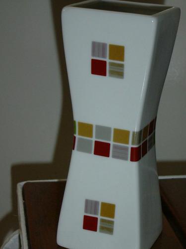 florero cerámica esmaltado