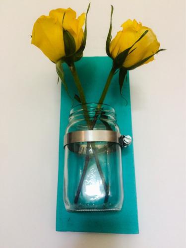 florero colgante - decoración - flores