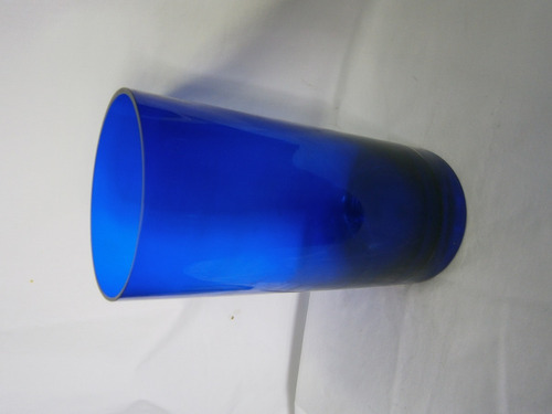 florero cristal azul redondo marca corgeous desings china