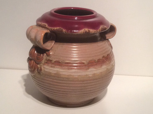 florero de cerámica art- deco.