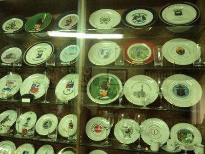 florero de cerámica pato
