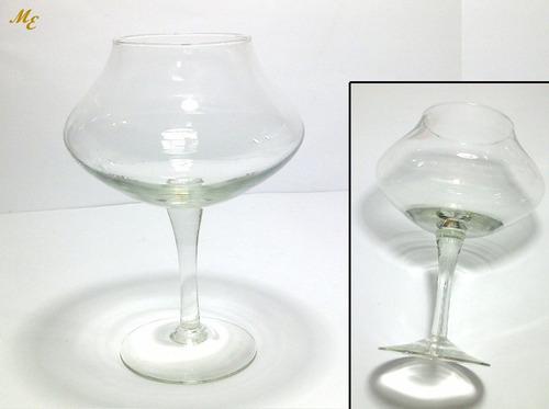 florero de cristal para flores o velas flotantes + velas f