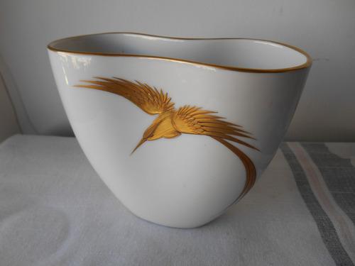 florero de porcelana alemana h c selb bavaria heinrich