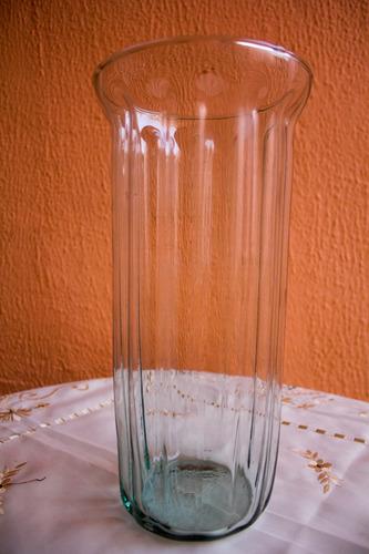 florero de vidrio romano 30cmx14,5cm adorno centro de mesa