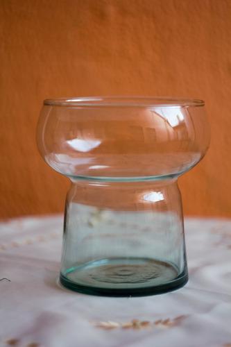 florero de vidrio shakira recuerdo centro mesa boda adorno