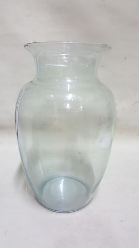 florero en vidrio importado transparente grande