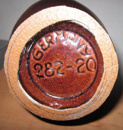 florero jarrita cerámica alemana sellada y numerada