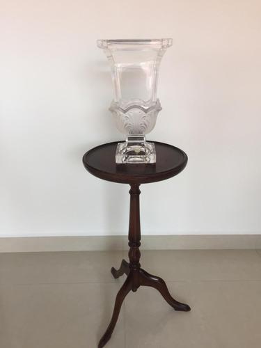 florero jarrón cristal alemán. usado perfecto estado.