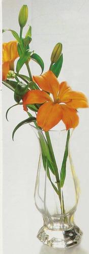 florero novoctime arcoroc soliflor 20 cm