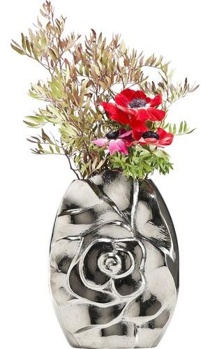 florero rose alu 29 cm kare (36065)