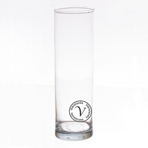 floreros cilindros de vidrio diametro 7cm x 30 de alt. tubos