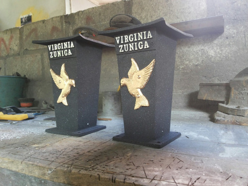 floreros personalizados para cementerios