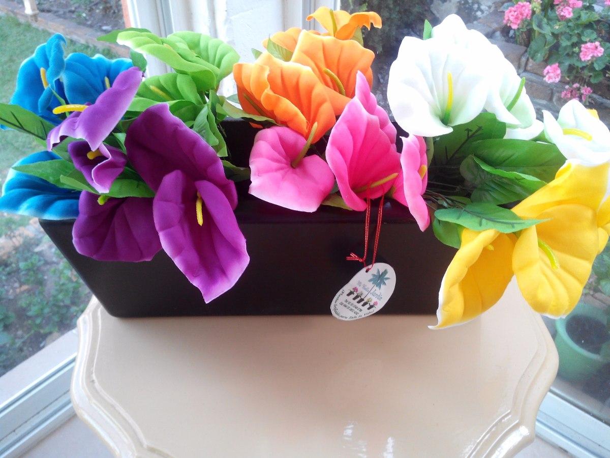 Flores Alcatraces Artificiales 348 00 En Mercado Libre