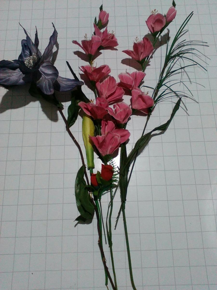 Flores Artificiales Decoracion O Artesanias Manualidades 12000 - Manualidades-con-flores-artificiales