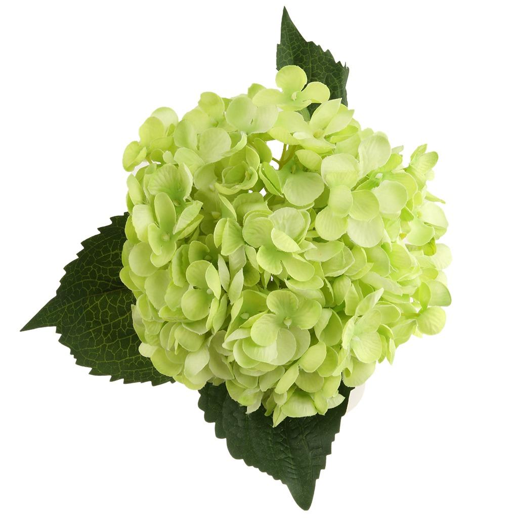 Flores Artificiales Hortensias F Arreglo Floral Centros De