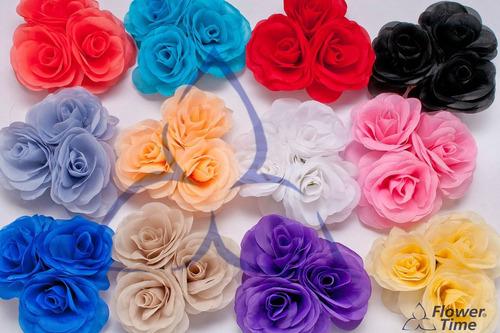 flores artificiales, mini centros de mesa x 12 unidades