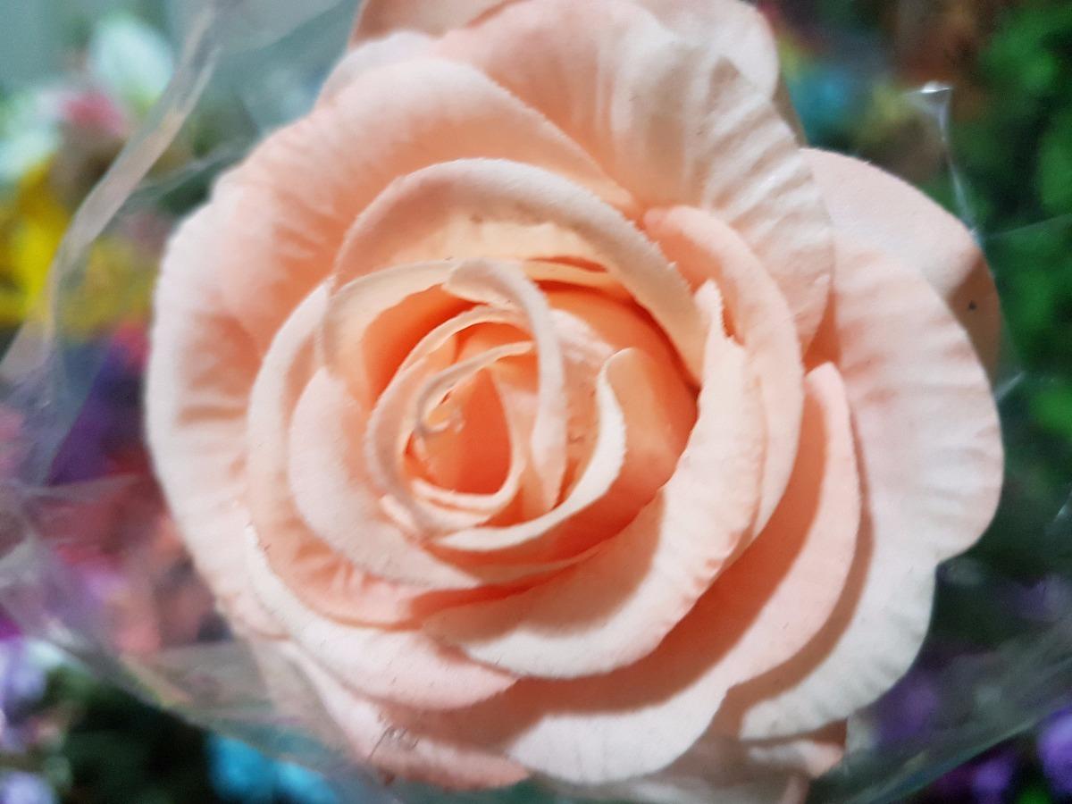 Flores Artificiales Rosas Rojas Blancas Azules Parece Real 9999