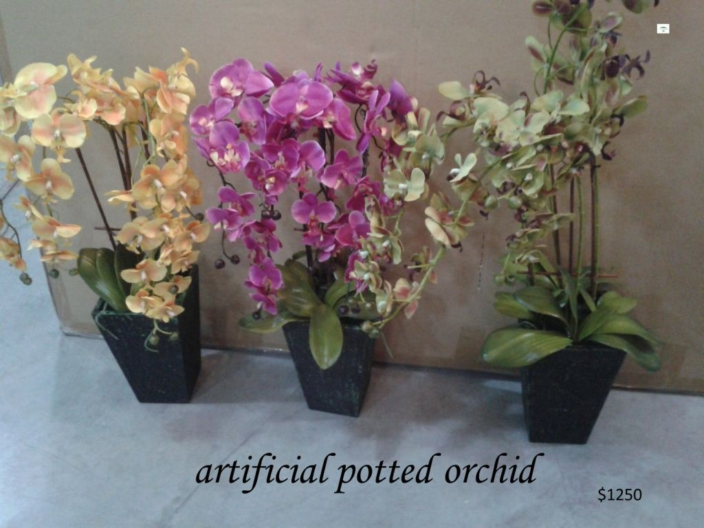 Flores artificiales y plantas de seda sp0 1 en for Plantas artificiales