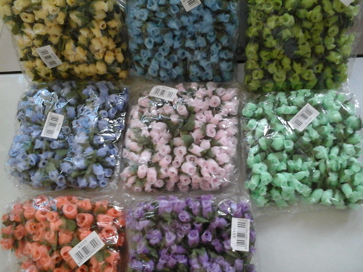 Flores Artificialespara Manualidades Bs 003 En Mercado Libre - Manualidades-con-flores-artificiales