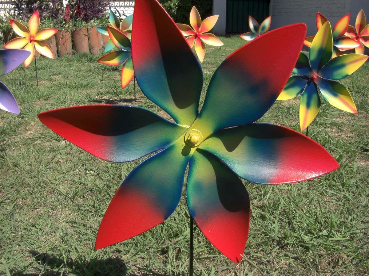 Flores Con Movimiento Hechas En Pvc Somos Fabricantes 55000 En
