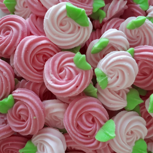 flores de azúcar,  para decorar pasteles ( rosetón # 2)