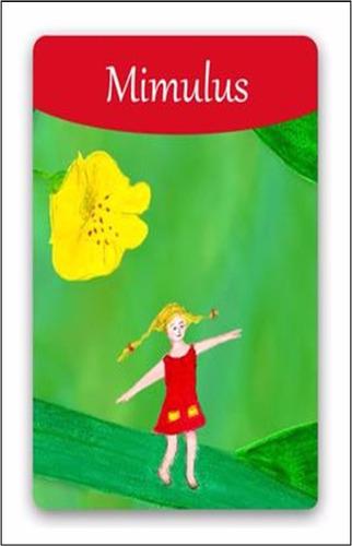 flores de bach para niños tarjetas