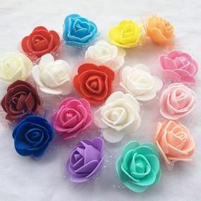 3455da557cd Flores De Goma Eva Brillante en Mercado Libre Argentina
