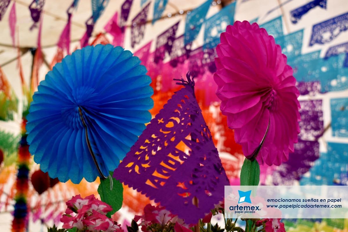 Flores De Papel China Mediana 150 00 En Mercado Libre