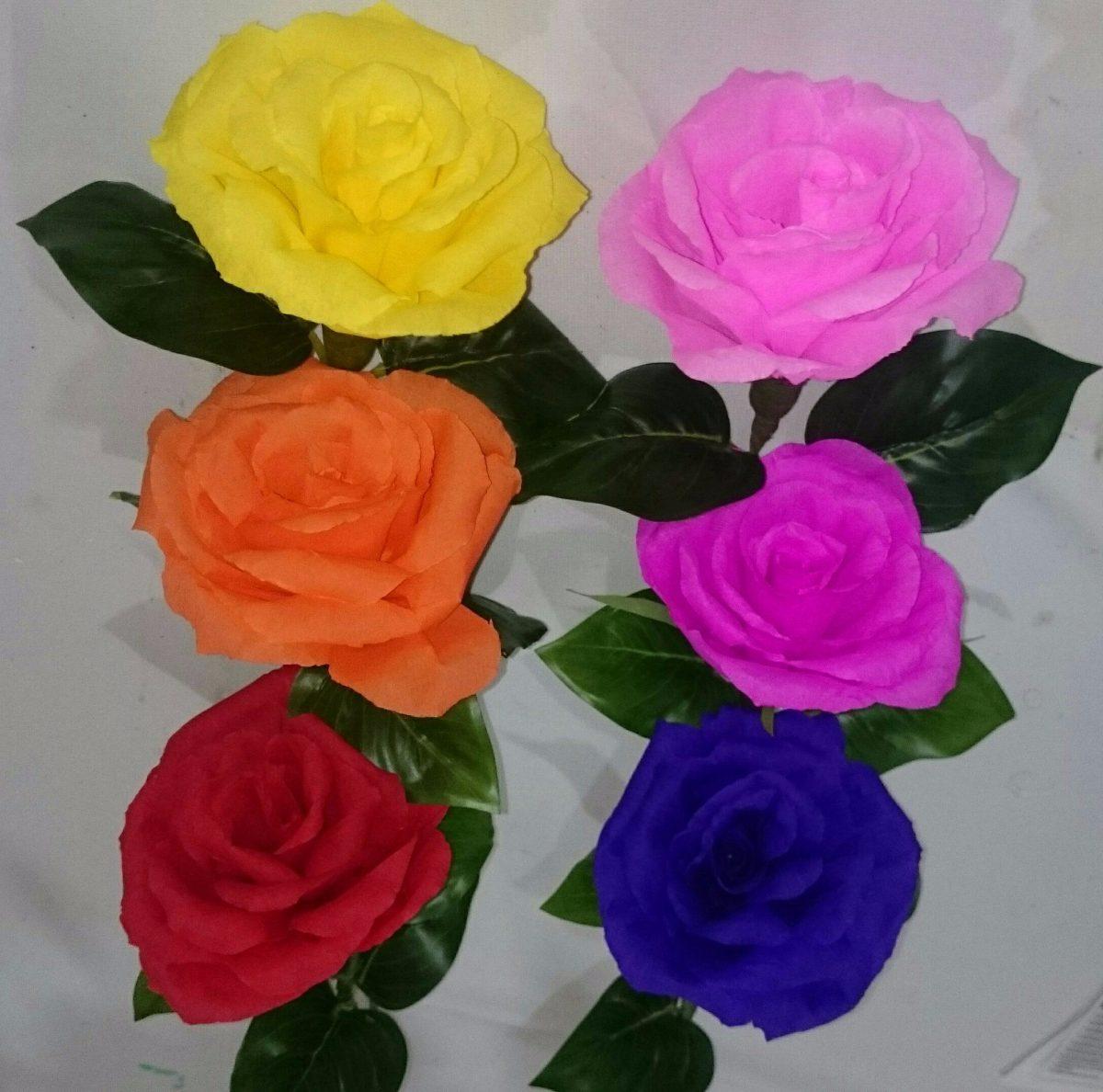 Hacer Flor Papel Trendy Flores Con Papel De Seda With Hacer Flor
