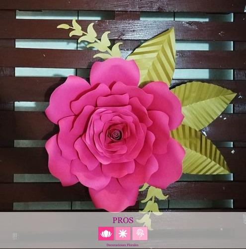 flores de papel - decoraciones florales
