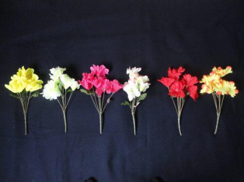 flores de tecido preço por duzia