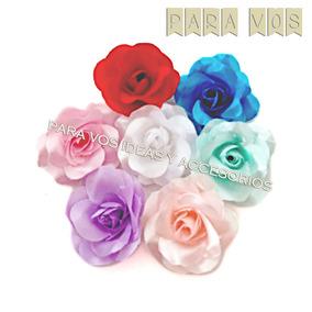 f7c41468e Flores De Tela Para Vinchas en Mercado Libre Argentina