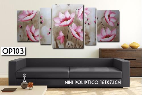 flores decoracion cuadro