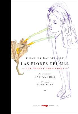 flores del mal, baudelaire, pocket, ed. zorro rojo