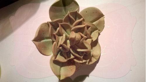 flores dulces comestibles para decorar tus tortas