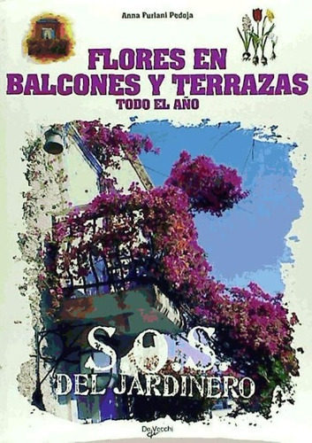 flores en balcones y terrazas.s.o.s.(libro )