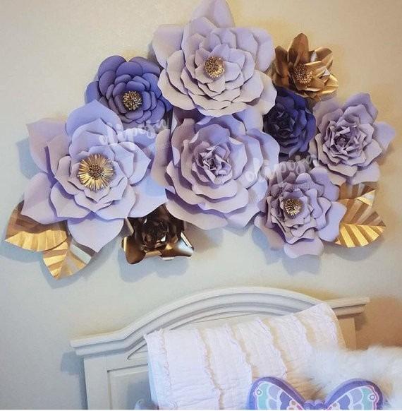 Flores Gigantes De Papel Cartulina Para Toda Ocasion Bs 10 00