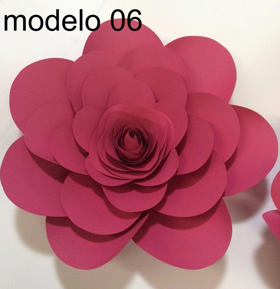Flores Gigantes Moldes Digitais Pdf E Svg 10 Moldes R 110 00 Em