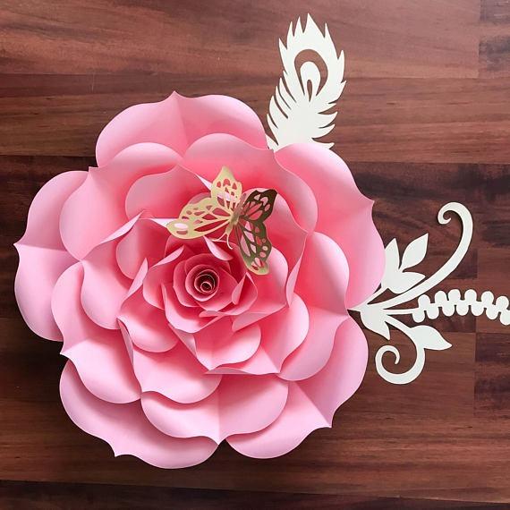 Flores Gigantes Papel Curso Avan 231 Ado Moldes Online Digital