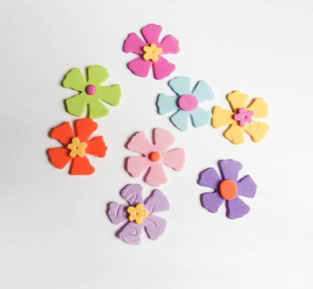 Excelente Flores Goma Eva Infantiles Imgenes Ideas para el hogar