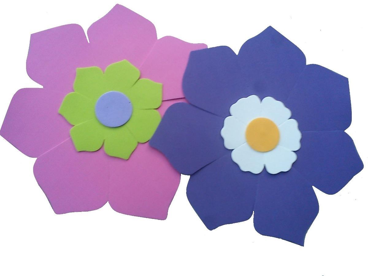 Flor goma eva fabulous with flor goma eva cool flor goma - Flor de goma eva ...